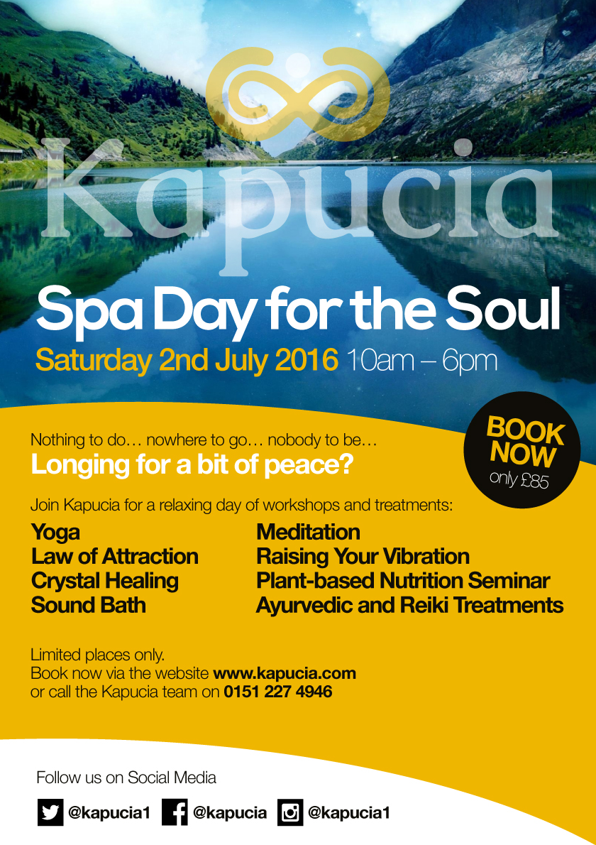 Kapucia Spa Day for the Soul