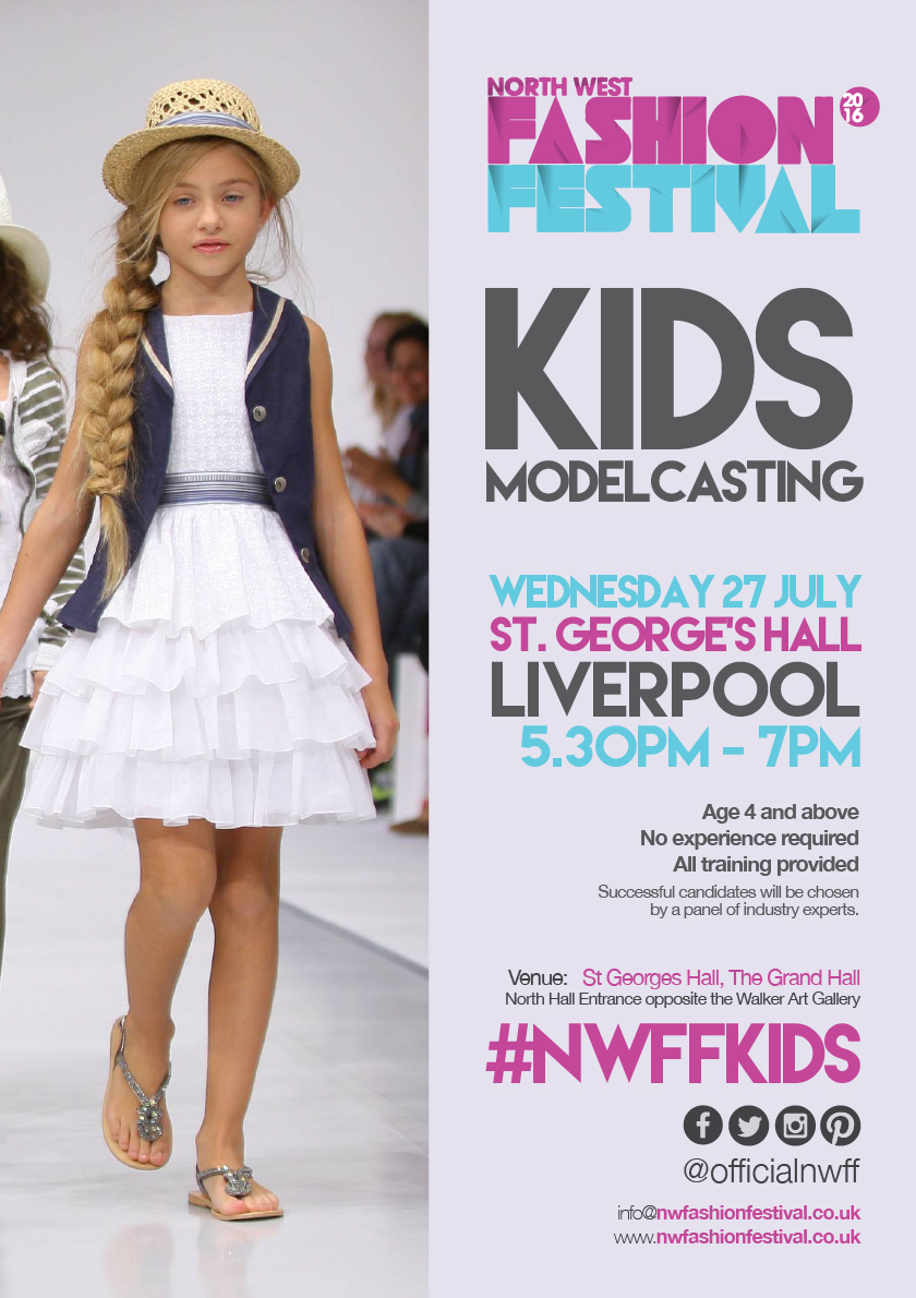 The North West Fashion Festival Children's Model Casting